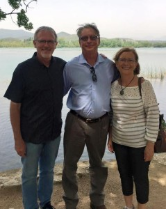A special visit from St. Pete...David & Pat Ritter joined us in Banyoles for an afternoon!  Sweet fellowship!