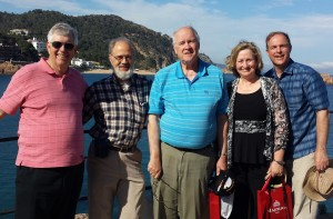 We got to take one of the S. Carolina work teams for a day out to Tossa de Mar
