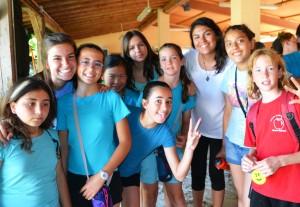 Happy faces at L'Arcada
